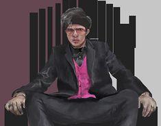 Muhammad, Dan, Anime Art, Photoshop, Profile, Digital, Illustration, Painting, Fashion