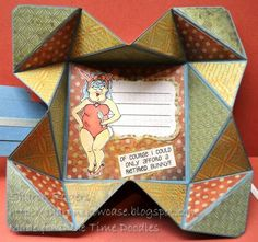 BDD Fanny Bunny (open) by Bonibleaux Designs - Cards and Paper Crafts at Splitcoaststampers