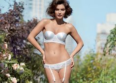 Alyssa Miller Wows for Intimissimi Spring/Summer 2014 Campaign Alyssa Miller, Summer 2014, Spring Summer, Raquel Zimmermann, Pretty Lingerie, Classy And Fabulous, Lingerie Collection, Lingerie Models, Editorial Fashion