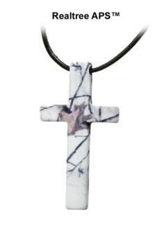 Stahl Cross™ Snow Camo Cross Necklace | Bass Pro Shops Cute Lingerie, Babydoll Lingerie, Bass Pro Shop, Camo Stuff, Fun Stuff, Holy Spirit, Camouflage, Spiderman, Winter Outfits