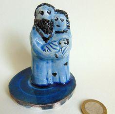 Mini ceramic Nativity scene Handcrafted by PulcinellaCeramics