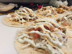 Made fresh and fast Street Tacos, Fish Tacos, Fresh, Meat, Chicken, Food, Essen, Meals, Yemek