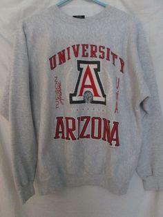:) Oh how I love big sweaters   University of Arizona Sweater, L