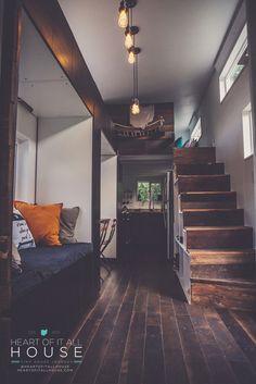 sleek tiny home