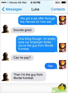 Texts From Superheroes: Best of Luke Cage (No...
