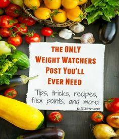 The Only Weight Watchers Post You'll Ever Need