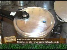 COZINHA CAIPIRA BIFE NA PANELA DE PRESSÃO  PROGRAMA CANTA VIOLA SUL