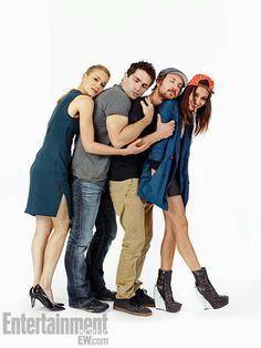Kristen Hager, Sam Witwer, Sam Huntington, Meaghan Rath... Being Human (US).  LOVE THIS SHOW and this cast!  I will miss watching it... so sad it's over :(  I guess there is always DVD.