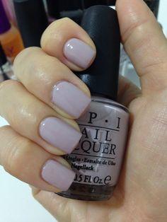 OPI Steady As She Rose - A pinky lavendar color