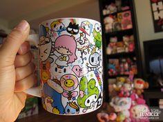 tokidoki x Sanrio Characters: 14oz Ceramic Mug - Hello Kitty Junkie