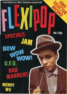 zombiesenelghetto:  The Selecter: Pauline Black, Flexipop #1, 1980