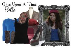 """""""Once Upon A Time: Belle"""" by murphylovesturtles ❤ liked on Polyvore"""