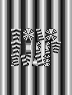Martin Isaac_Mono Merry Xmas Art Print