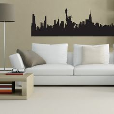 Adesivi murali new_york_skyline