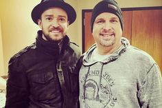 Chatter Busy: Justin Timberlake Performs A Duet With His Idol Garth Brooks (VIDEO)