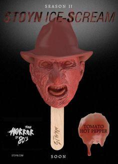 The Stoyn Horror Movie Popsicles are Scarily Delicious #icecream #recipe trendhunter.com