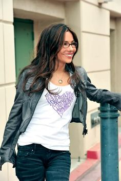 "Vanessa Marcil-Giovinazzo...I agree w/ Prince ""the most beautiful girl in the world"""