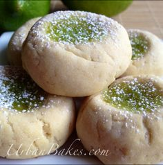 Key Lime Biscuit Cookie | URBAN BAKES