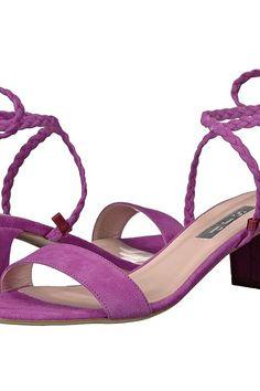 SJP by Sarah Jessica Parker Elope (Orchid Suede) Women's Shoes - SJP by Sarah Jessica Parker, Elope, ELOPE SU-445, Footwear Open General, Open Footwear, Open Footwear, Footwear, Shoes, Gift, - Street Fashion And Style Ideas