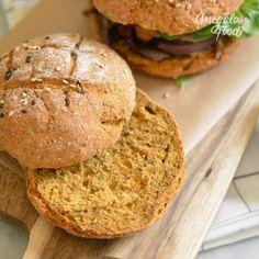 Pain à burger express & vegan à la patate douce – Megalow Food