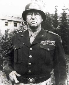 General Patton. One of the greatest leaders.