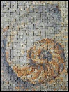 Image result for Nautilus mosaic