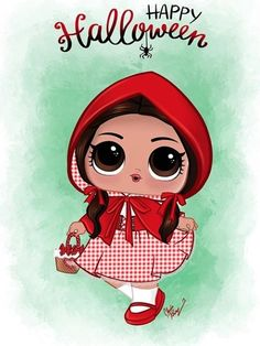 Lol Dolls, Disney Characters, Fictional Characters, Clip Art, Disney Princess, Halloween, Drawings, Happy, Cute