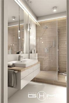 rebath bathroom remodelingiscompletely important for your home. Whether you choose the minor bathroom remodel or small bathroom storage ideas, you will create the best diy bathroom remodel ideas for your own life. Bathroom Layout, Modern Bathroom Design, Bathroom Interior Design, Modern Interior Design, Minimalist Bathroom Design, Modern Small Bathrooms, Dream Bathrooms, Bathroom Designs, Bad Inspiration
