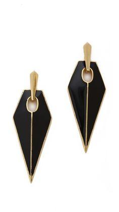 Rebecca Minkoff Blades Statement Earrings $78
