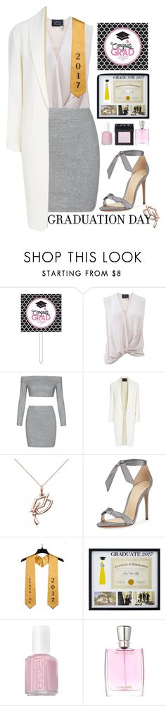 """""""Graduation Day"""" by my-style-xo ❤ liked on Polyvore featuring Lanvin, Alexander Wang, Allurez, Alexandre Birman, New View, Essie, Lancôme, NARS Cosmetics, Graduation and contest"""