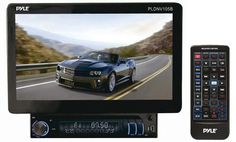10.1'' Motorized TFT/LCD Touch Screen Detachable Display Multimedia Receiver w/Bluetooth/AUX-In iPod Cable/GPS w/USA/Canada/Mexico Maps