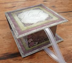 Verity Cards: Fold over Box Tutorial