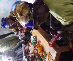 Widows making potholders. Potholders, Africa, Hands, Fictional Characters, Art, Art Background, Pot Holders, Hot Pads, Kunst