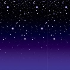 Starry Night Backdrop Measures: (48) inches tall by (30) feet long  $12.76
