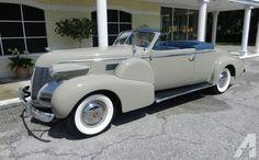 1938 Cadillac Series 75 2-Door Convertible