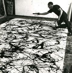 Jackson-Pollock- expresionismo abstracto