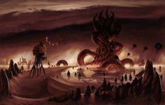 Telvanni Tower. The Elder Scrolls III: Oblivion. Fan art at its finest..