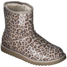 Women's Xhilaration® Kamar Genuine Suede Shearling Style Boots 111