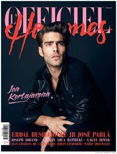 L'Officiel Hommes Turkey issue 4 Jon Kortajarena, Turkey Photos, Fashion Mag, Male Fashion Trends, Fashion Cover, Editorial Fashion, Mens Fashion, News Magazines, Karl Lagerfeld