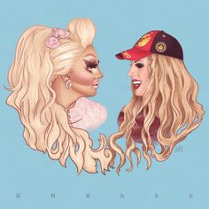 Image result for trixie and katya glamour