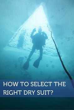 How to select the right dry suit? Check what we wrote in our blog! #scuba…
