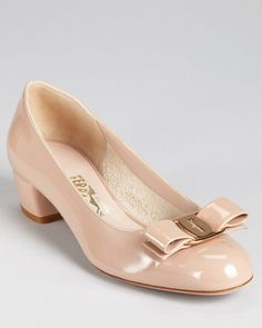 "But I went for the ""classic"" goes with everything Ferragamo Vara pump - it is an investment, right?"