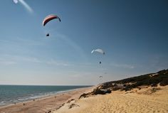 playa Matalascanas Ibiza, Paragliding, Andalucia, Almonte, Sea, World, Water, Travel, Outdoor