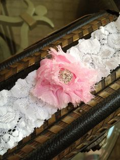 Pretty in Pink Garter by LolaBridalDesigns on Etsy, $9.00