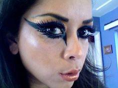 Raven Wing(esque) makeupe