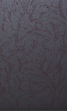 WRAPPING PAPER ACANTHUS ANTHRACITE-BURGUNDY  Premium paper with a lustrous metallic surface, Screen printing Print Finishes, Acanthus, Gift Wrapping Paper, Screen Printing, Festive, Burgundy, Wraps, Metallic, Surface