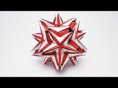 折り紙  「JACIARA」薬玉 の折り方 (Ekaterina Lukasheva) - YouTube