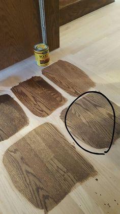 Minwax Stain Colors, Wood Floor Stain Colors, Oak Stain, Dark Walnut Stain, Refinishing Hardwood Floors, Oak Hardwood Flooring, Grey Flooring, Red Oak Floors, Walnut Floors
