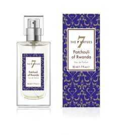 New - Patchouli of Rwanda Eau de Parfum is a unisex fragrance made with earthy organic patchouli with notes of red hibiscus, cedar flower and freesia. The essential oils support farmers rebuilding in Rwanda after the genocide. Available September 21, International Day of Peace www.the7virtues.com