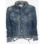 distressed jean jacket